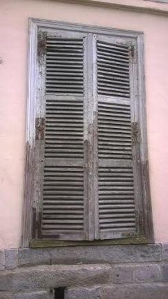 foto fönster i gamla Lille