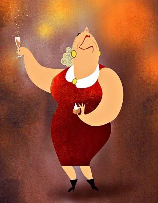 Erics bild champagne tanttu
