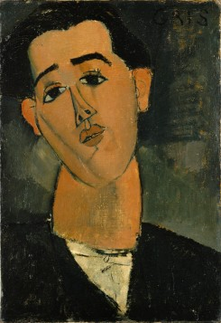 Amedeo Modigliani - Portrait of Juan Gris.