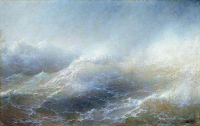 Ivan Aivazovsky - Sea view