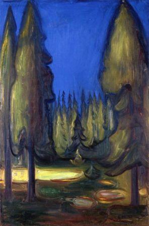 Munch Edvard Skog