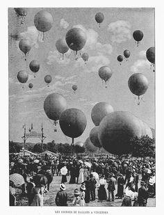 Foto Ballonger Paris Olympiaden 1900