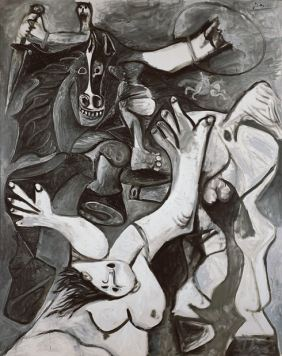 Picasso the-rape-of-the-sabine