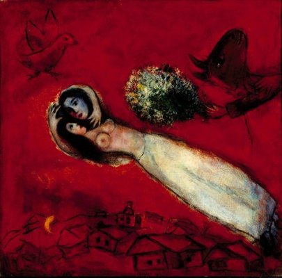 chagall - amour