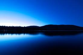 blå sommarnatt