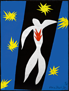 Henri Matisse - The Fall of Icarus, 1943