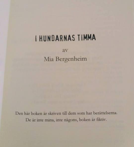 IHT första sidan